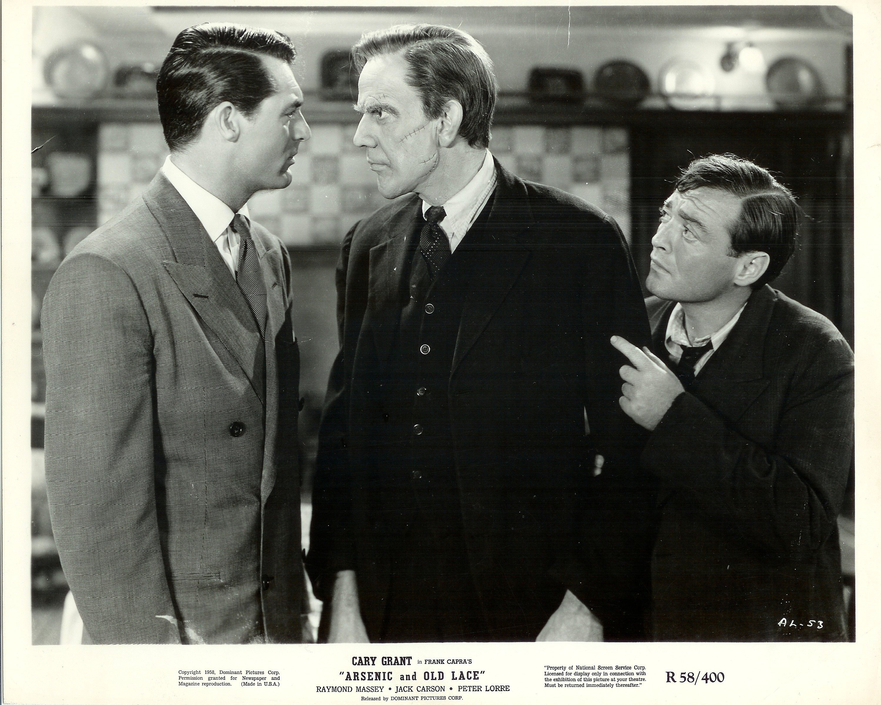 An analysis of arsenic and old lace a movie