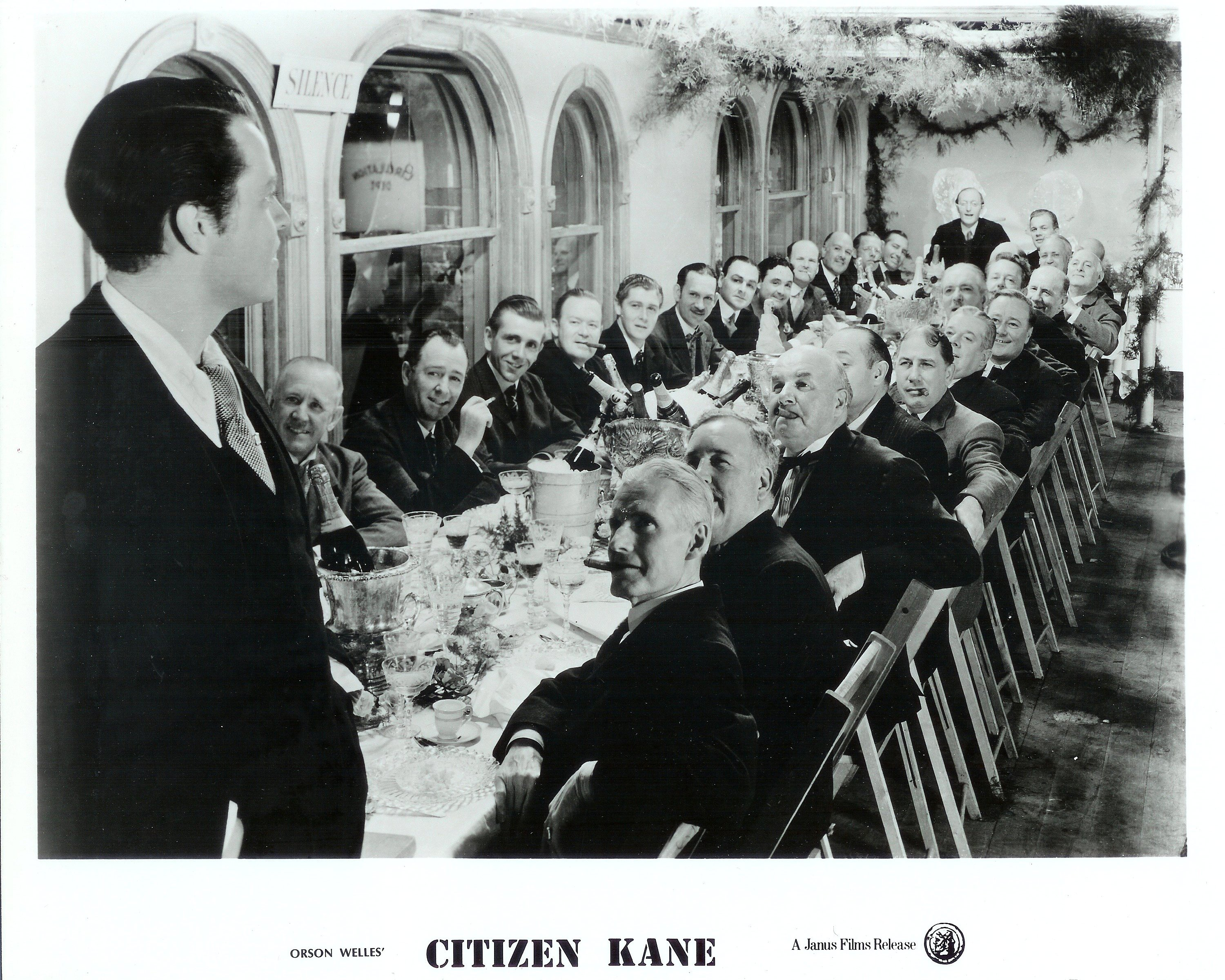 a summary of citizen kane by orson welles Study of sound in citizen kane film studies essay print reference orson welles's citizen kane (1941) is probably the most famous masterpiece in film world.